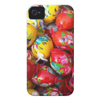 Hand-painted-Easter-eggs Case-Mate iPhone 4 Cases