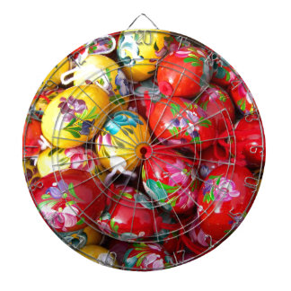 Hand-painted-Easter-eggs Dartboard
