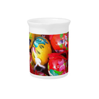 Hand-painted-Easter-eggs Drink Pitchers