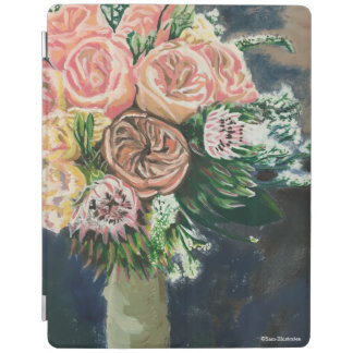 Hand Painted Floral Bouquet iPad Case iPad Cover