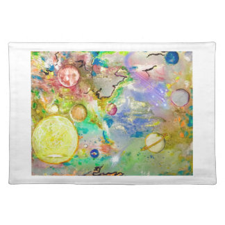 Hand Painted Galaxy Placemats