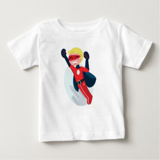 Hand painted little Hero flying Baby T-Shirt