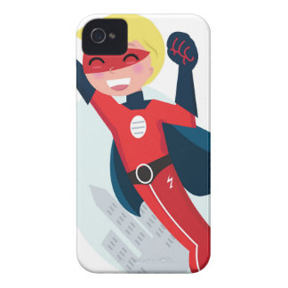 Hand painted little Hero flying iPhone 4 Case