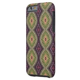 Hand painted pattern tough iPhone 6 case