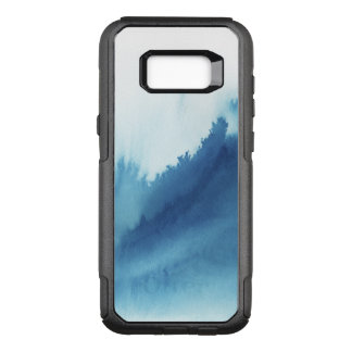 Hand painted watercolor textures OtterBox commuter samsung galaxy s8+ case