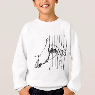 Hand Playing Musical Notes Sweatshirt
