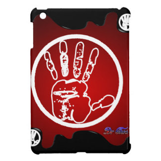 HAND RED RED BACKGROUND PRODUCTS iPad MINI CASES
