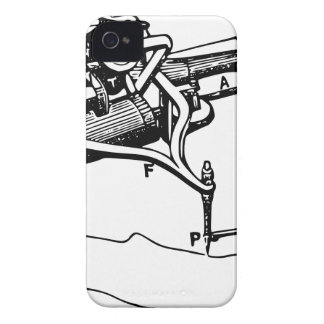 Hand Repairing Old Device iPhone 4 Case-Mate Case