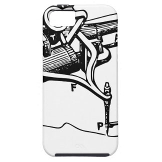 Hand Repairing Old Device iPhone 5 Cover