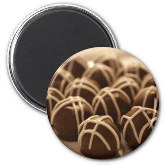 Hand-Rolled Peanut Butter Balls... 6 Cm Round Magnet