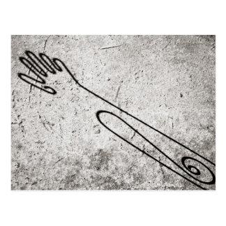 Hand Shadow Postcard