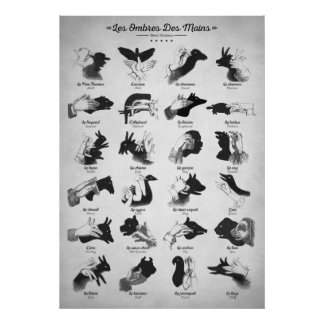 Hand Shadows Poster