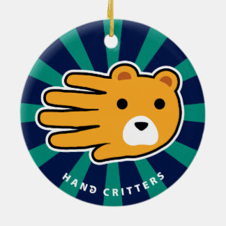 Hand Shaped Bear Ornaments