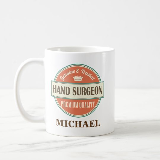 Hand Surgeon Personalised Office Mug Gift