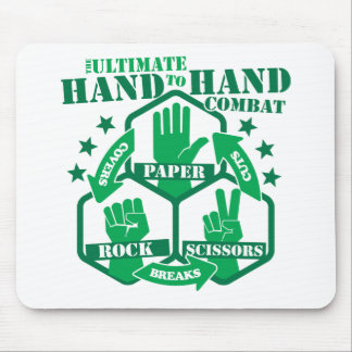 Hand to Hand Combat Mouse Pad