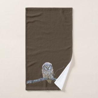 Hand Towel w/ owl