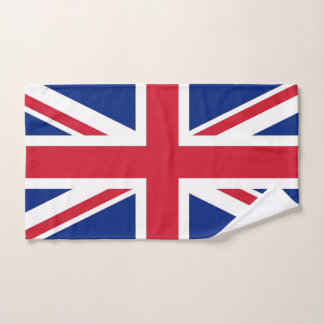 Hand Towel with Flag of United Kingdom