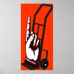 Hand Truck Poster