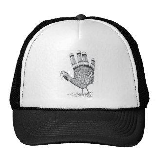 Hand Turkey Hat