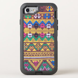 Hand Woven Thai Silk Pattern OtterBox Defender iPhone 8/7 Case