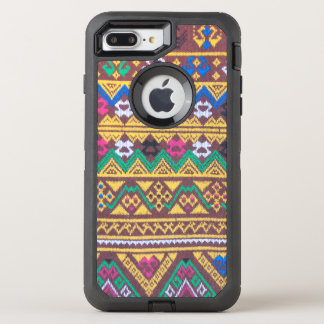 Hand Woven Thai Silk Pattern OtterBox Defender iPhone 8 Plus/7 Plus Case