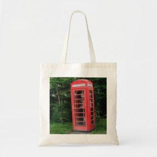 Handbag Countryside Red Phone Box Tote Bag