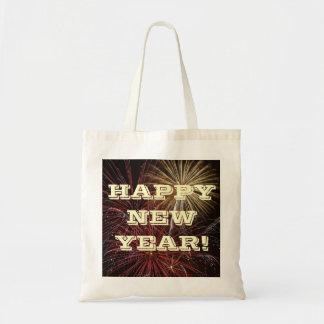Handbag Happy New Year Budget Tote Bag