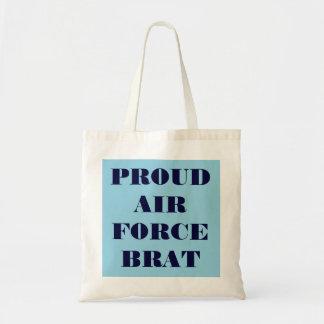 Handbag Proud Air Force Brat Budget Tote Bag