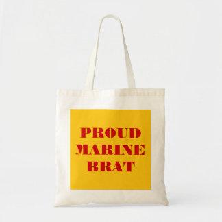 Handbag Proud Marine Brat Canvas Bag