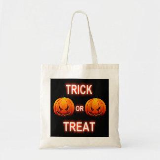 Handbag Trick Or Treat Pumpkins Budget Tote Bag