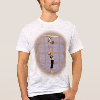 Handbalancing couple T-Shirt