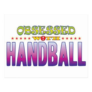 Handball 2 Obsessed Postcard
