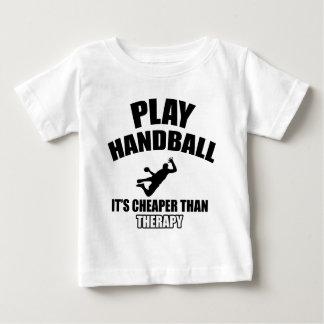 Handball  design baby T-Shirt