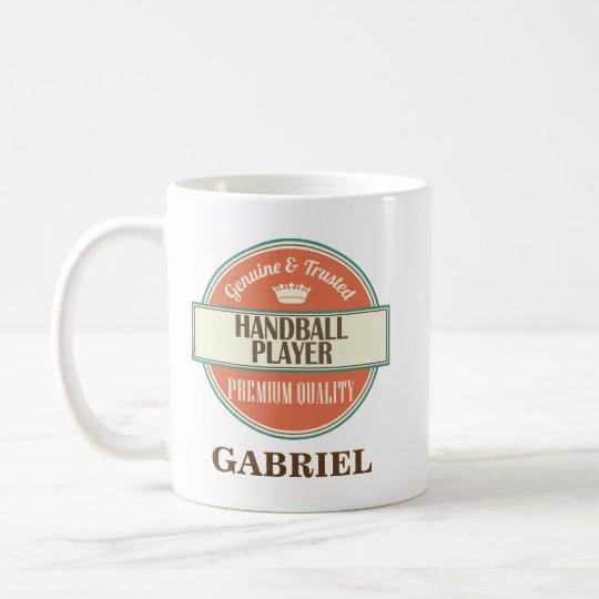 Handball Player Personalised Office Mug Gift