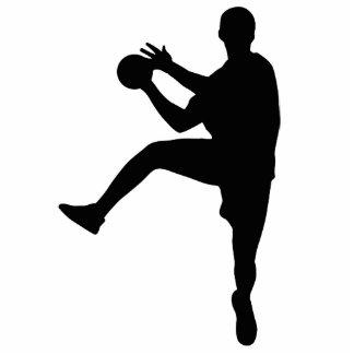 Handball Standing Photo Sculpture