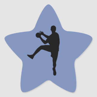 Handball Star Sticker
