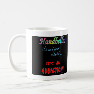 Handbell Addiction Coffee Mug