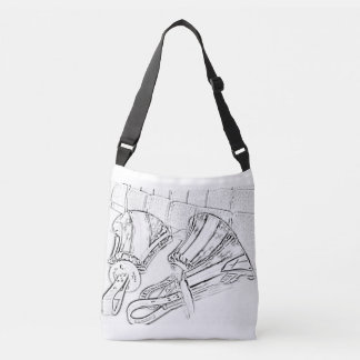 Handbell covered tote