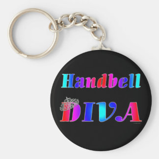 Handbell Diva Key Ring