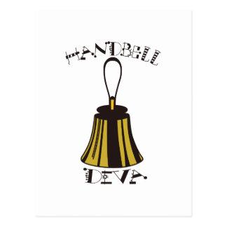 Handbell Diva Postcard