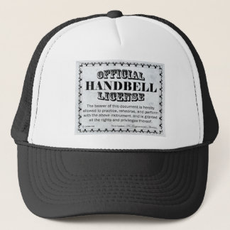 Handbell License Trucker Hat