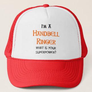 handbell ringer trucker hat