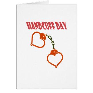 Handcuff Day - Appreciation Day Card