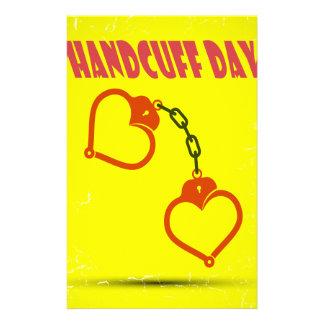 Handcuff Day - Appreciation Day Customized Stationery