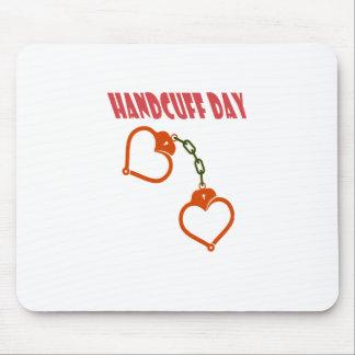 Handcuff Day - Appreciation Day Mouse Pad