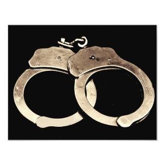 Handcuffs Invitation