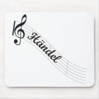 Händel Classical Music Treble Mouse Pad