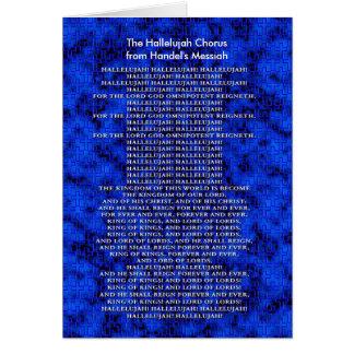 Handel Messiah Christmas Card