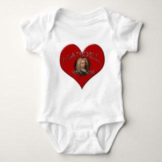 Handel Rocks Baby Bodysuit