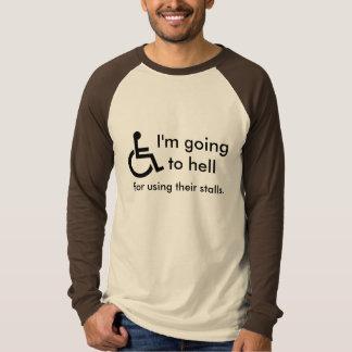 Handicap Pooper Tee Shirt
